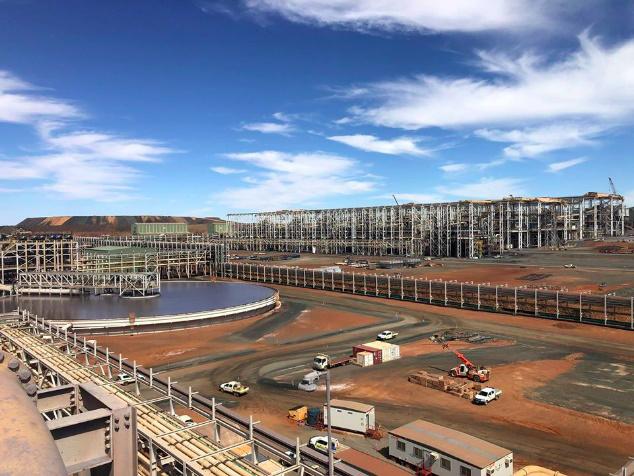 Sino Iron Mine Site Western Australia