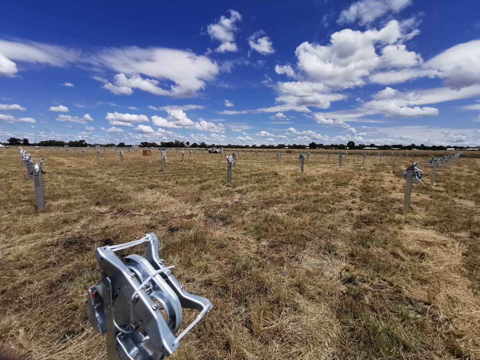 Solar Farm site Australia
