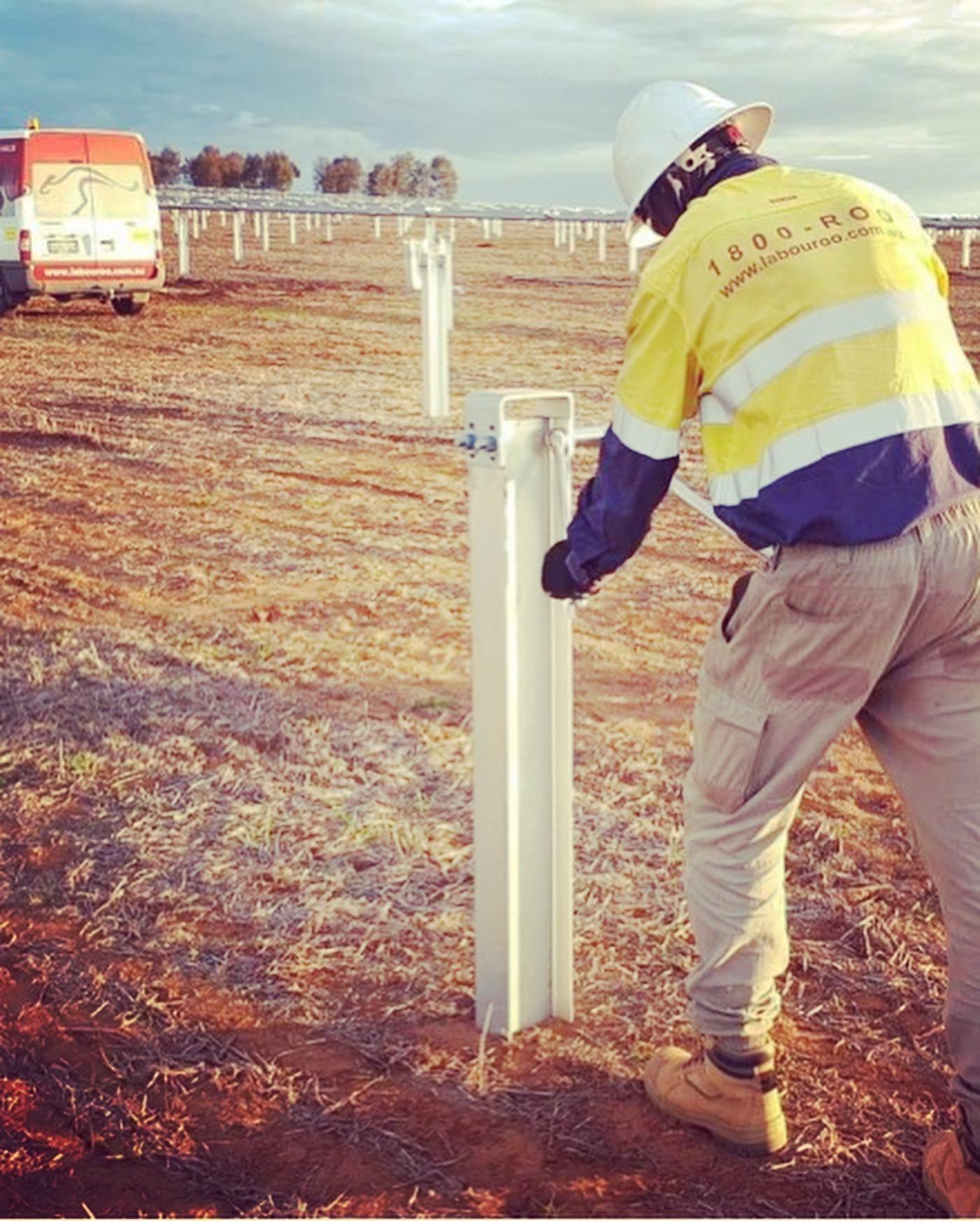 Piling labour hire Australia