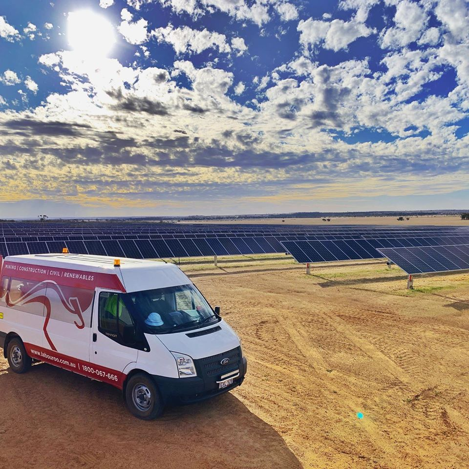 solar farm labour hire Australia