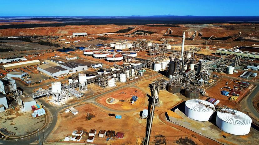 Mining Power Plant